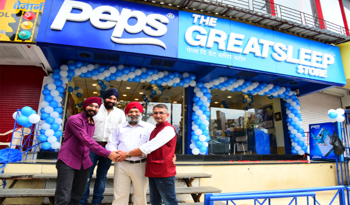 Peps Industries launches 125th Great Sleep Store in India