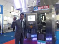 Uflex unveils its revolutionary Aseptic Filling Machine - ASEPTO Smart 78