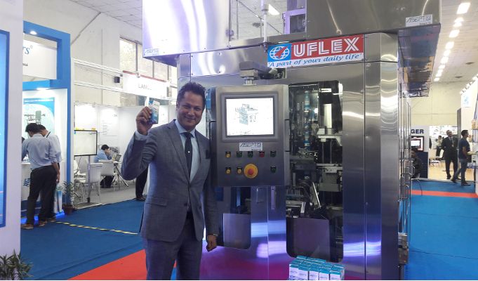 Uflex unveils its revolutionary Aseptic Filling Machine - ASEPTO Smart 78