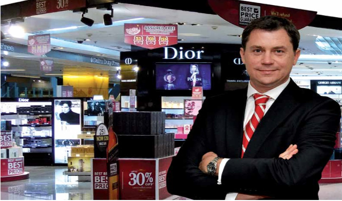 On a high: The largest duty-free retailer in the subcontinent