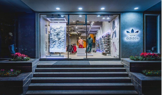 magasin en ligne 5816e 18440 adidas Originals 'Fashion Destination Door' store debuts in ...