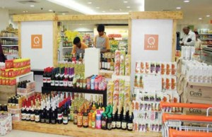 We serve a premium niche in food & home needs retailing: Q-Mart