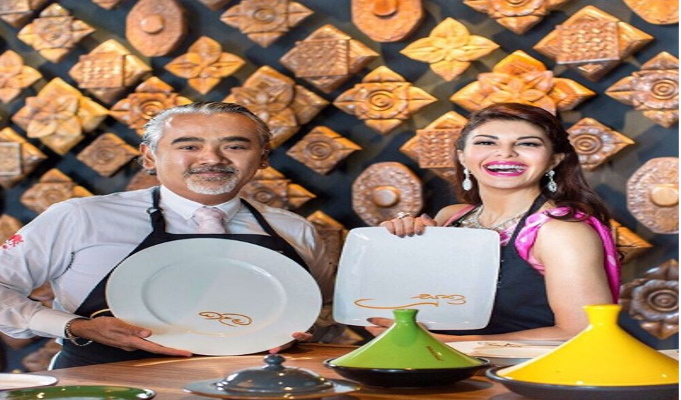 Actress Jacqueline Fernandez opens her first restaurant in Colombo