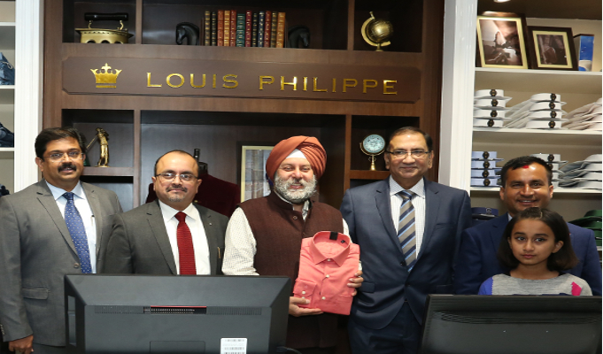 Louis Philippe from Aditya Birla Fashion and Retail Ltd. enters Nepal