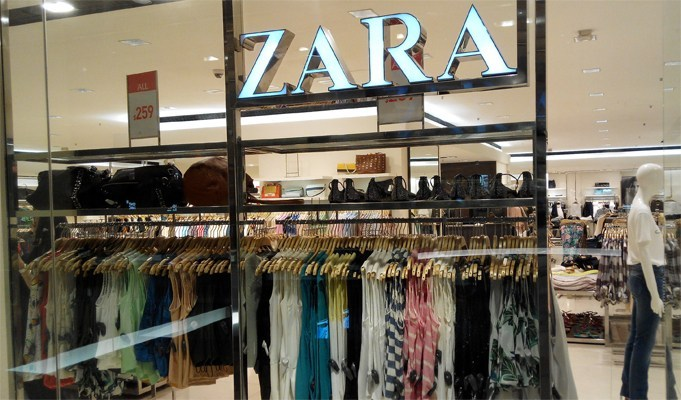 Zara unveils click-and-collect pop-up concept store in London