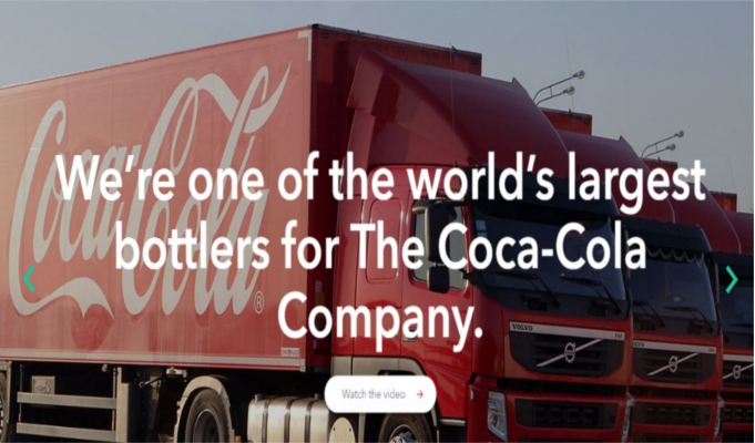 Coca-Cola HBC net profit rises 24 percent for full year