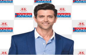 Hrithik Roshan to be the face of Donear brand of suiting & shirting