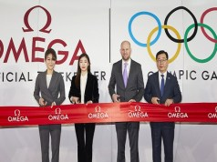 Omega opens its Olympic exhibition in Lotte World Mall, Seoul