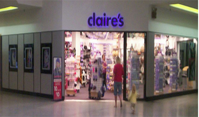 Claire's files for Ch. 11 bankruptcy