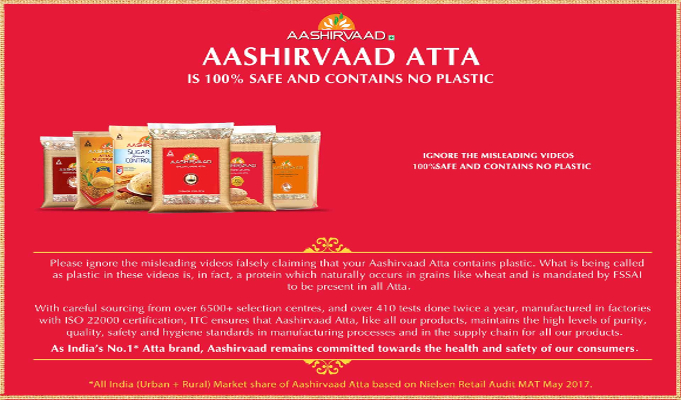 ITC's Aashirvaad becomes Rs 4,000 cr brand, forays into new segments