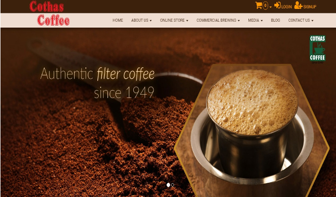 Cothas Coffee Has Always Been Distinct Due To Its Flavour And Mouthfeel Indiaretailing Com