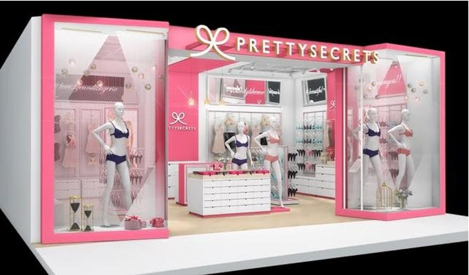 PrettySecrets is all to set to open 300 stores by the end of 2019