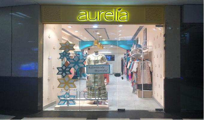 Aurelia unveils its new store in Gurgaon