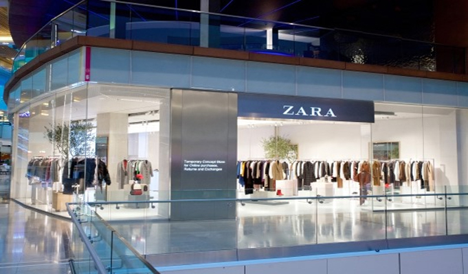 Zara opens flagship concept store at Westfield Stratford