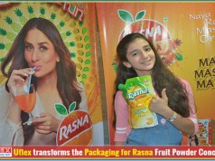 Uflex transforms the packaging for Rasna fruit powder concentrate