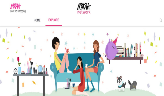 Nykaa launches Nykaa Network, India's first interactive beauty forum
