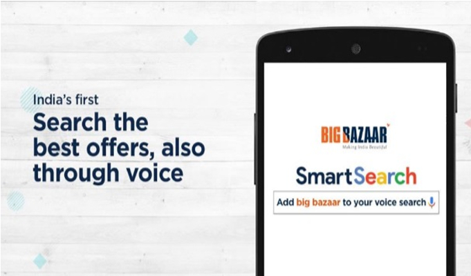 Big Bazaar explores Voice Search to give best offers to consumers