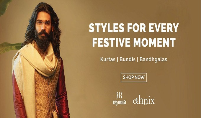 Raymond to open 15 standalone EBOs for occasion wear brand Ethnix