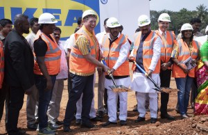IKEA India breaks ground for its 3rd store in Bengaluru