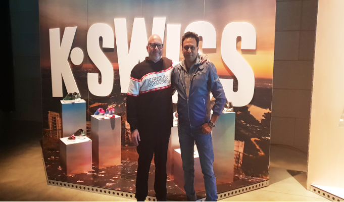 BFL Brand Folio introduces American tennis footwear brand 'K-Swiss' in India
