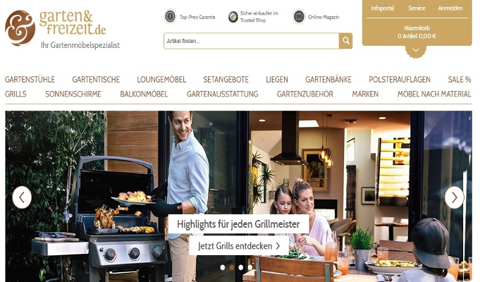 German retailer Garten-und-Freizeit.de to roll out AR/ VR strategy for its online furniture stores