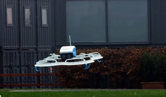 Uber eyes drones for food delivery