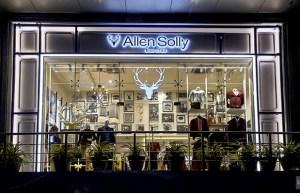 Allen Solly struts into a clean modern retail design concept