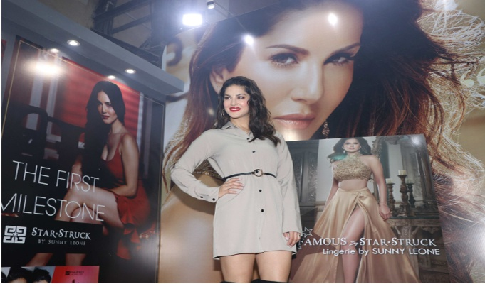 Sunny Leone launches her innerwear brand 'Infamous by Startstruck'