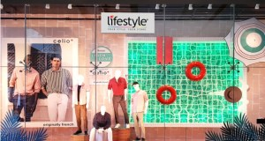 Lifestyle launches multiple windows that present summer inspirations like poolside, tropical prints or even rain