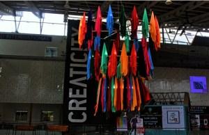 Creaticity brings kaleidoscope of colours