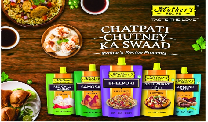 Mother's Recipe introduces a range of street-styled authentic chutneys in spout pack