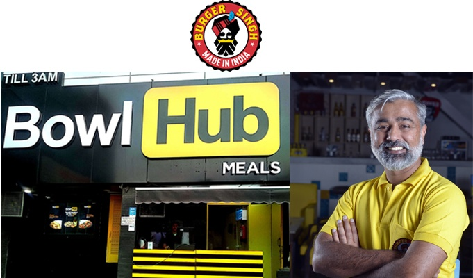 Burger Singh's parent company launches Bowl Hub