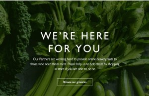 Waitrose expands home delivery fulfilment to cope with COVID-19 demand