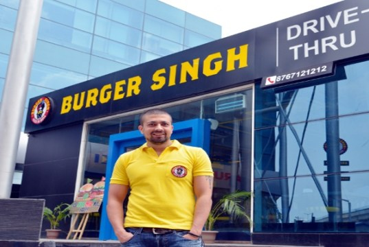 Burger Singh signs master franchise deal in Gujarat