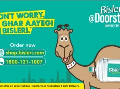 Bisleri launches Bisleri@Doorstep to cater to increased demand for essentials