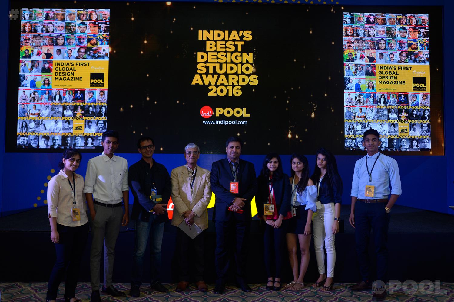 Harsh Manrao, Mookesh Patel and Sudhir Sharma with ISDI Students