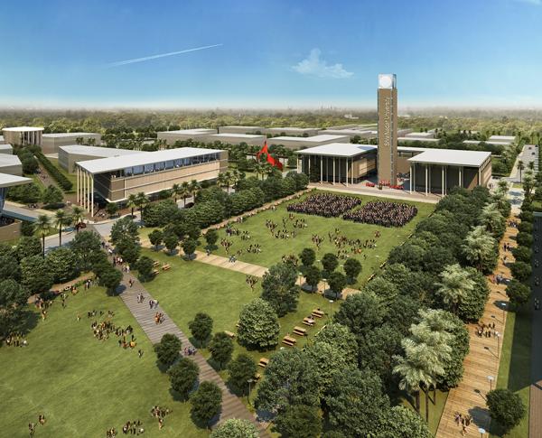 2-Master-plan-for-the-Shiv-Nadar-University