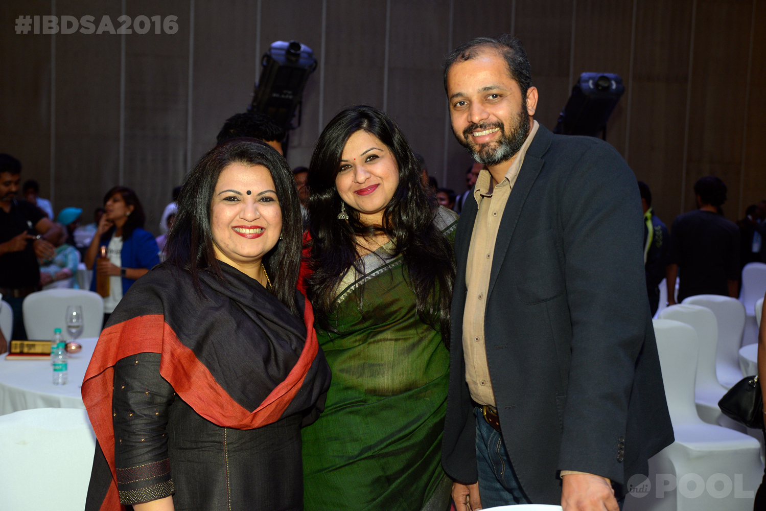 Priyanka & Payal Saluja with Shekhar Badve