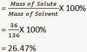 Mass of Solute