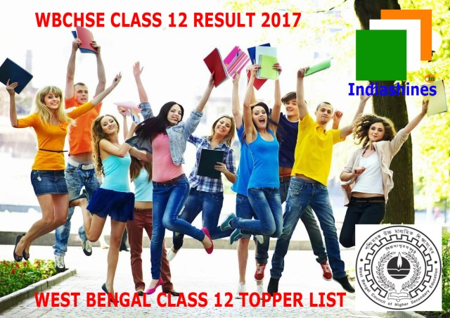 West Bengal Class 12 result and State topper list