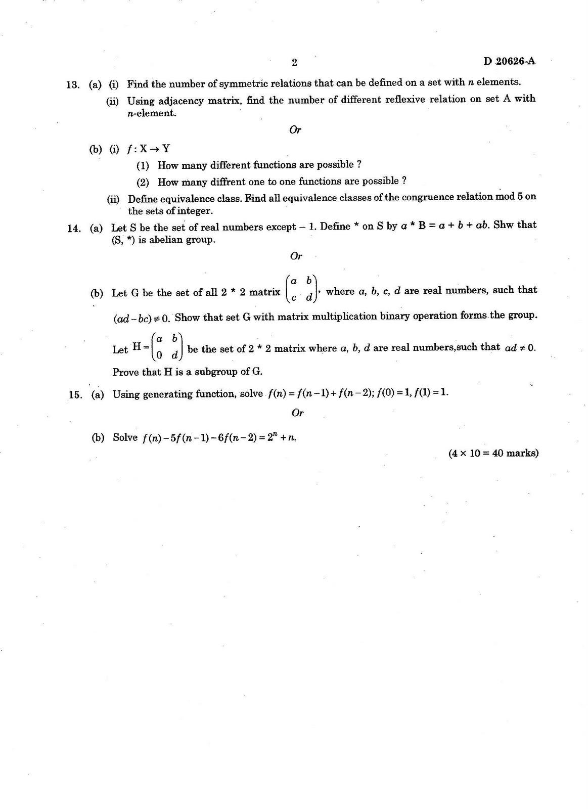University Of Calicut Calicut University Third Semester Scheme Btech Computer Science And