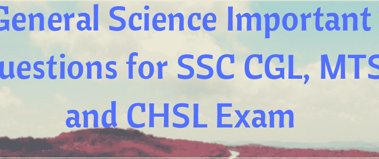 Science GK Questions Download Free PDF Science Study Material Notes