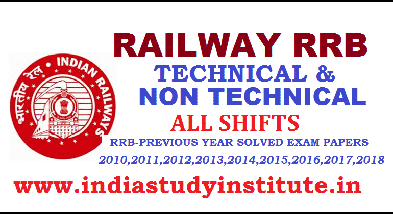 RRB Indian Railway 2019 Recently Asked Questions