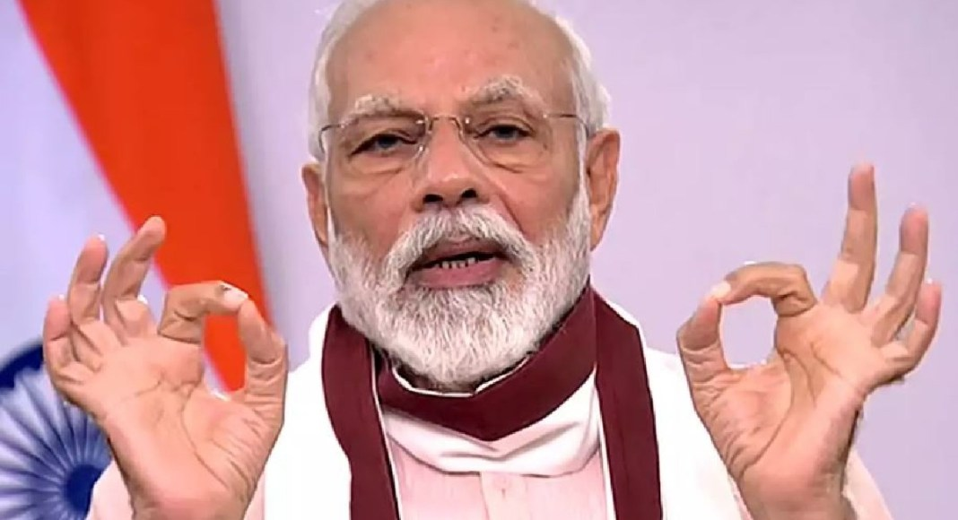 PM Modi announces the financial package of Rs. 20 Lakh Crores