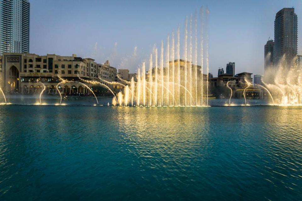 दुबई फाउंटेन शो