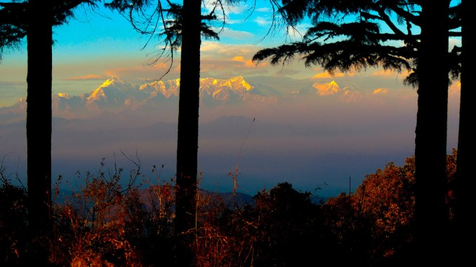 Himalaya from Binsar