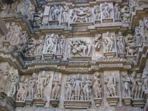 Khajuraho erotic art