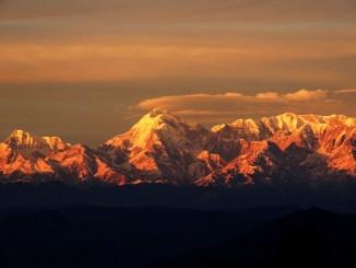 Awareness - Sunset in Himalayas