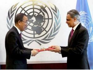 syed_ UN credentials