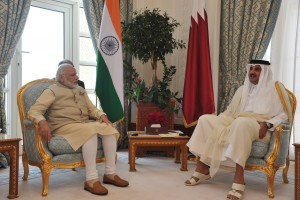 Modi-Emir Qatar